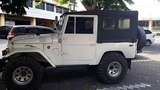Dijual Jeep Klasik FJ40 Kanvas 1962 Kondisi Terawat