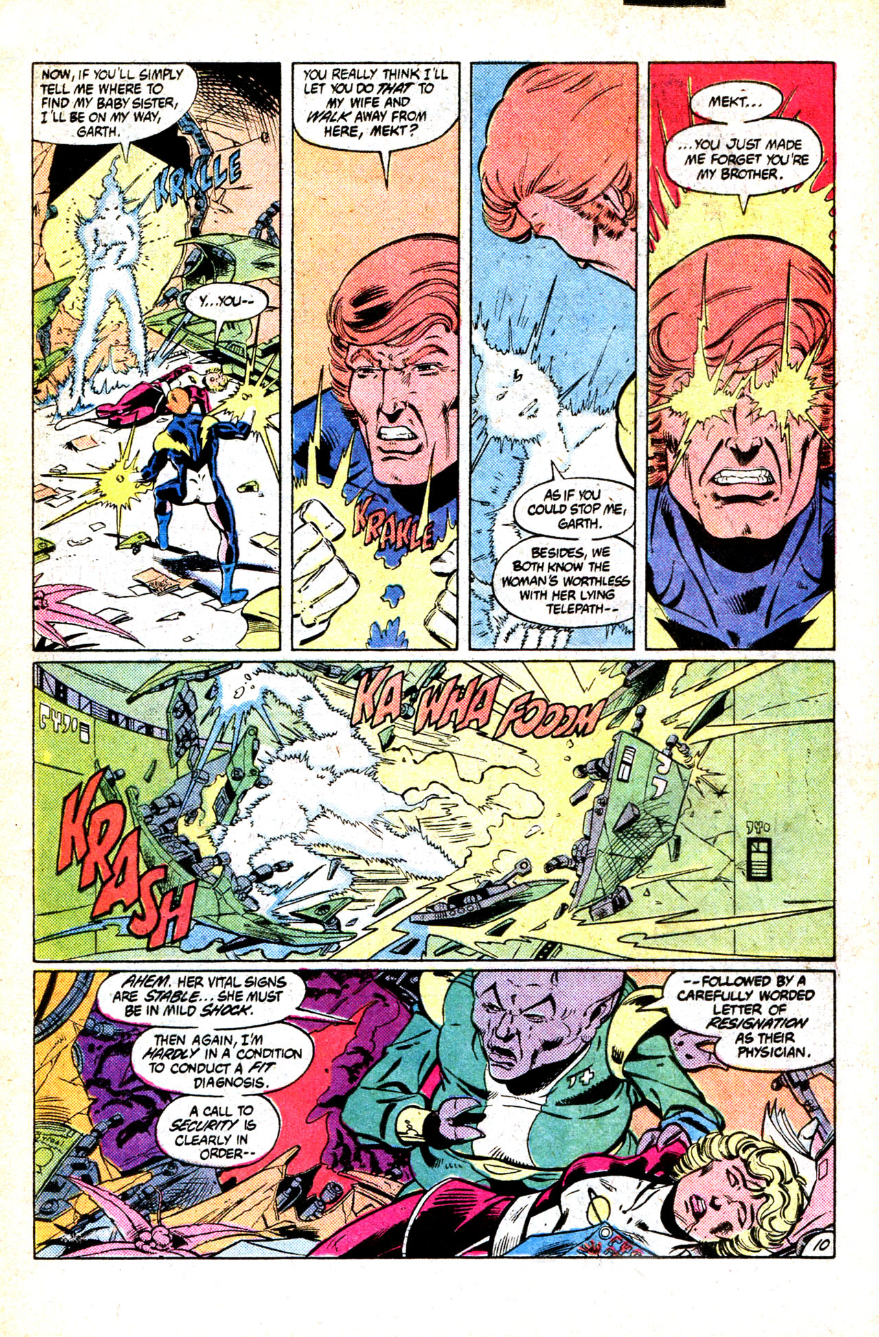 Legion of Super-Heroes (1980) 302 Page 14