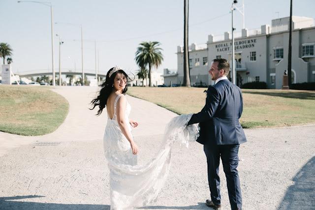 TO THE AISLE AUSTRALIA MELBOURNE REAL WEDDING FEATURE ST KILDA