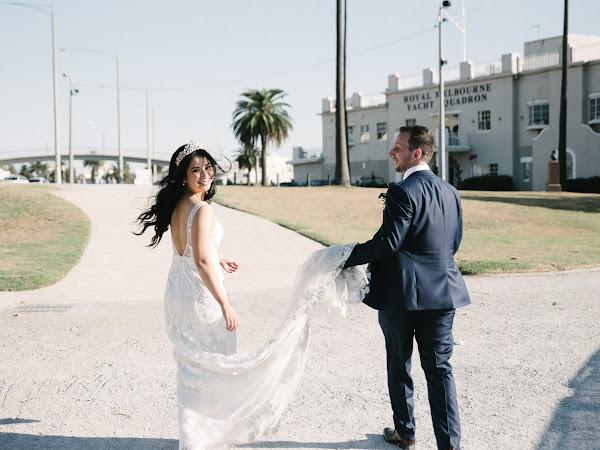 ➳ ELEGANT BEACHSIDE WEDDING | KIMBERLEY + ANTHONY { ST KILDA }