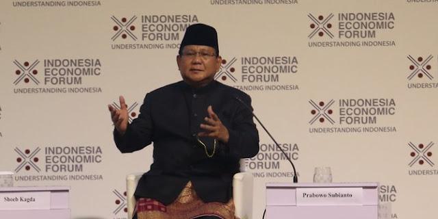 Prabowo: Jangan Kau Kira Jenderal Hidup Mewah, Duit Pensiun Gue Rp 3,9 Juta