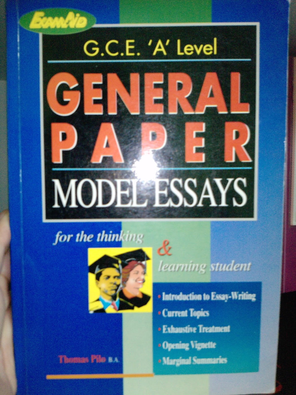 A Level General Paper Model Essays  Online Essay Research  Sample Literature Essay Business Ethics Essay A Level General Paper Model Essays  Online Essay Research  Examples Of Biographical Essays also Thesis Statement Examples For Argumentative Essays