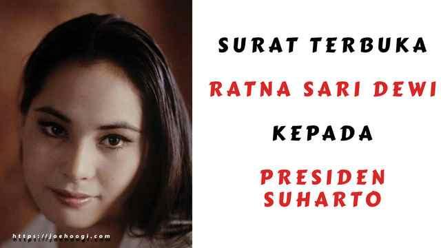 Surat Terbuka Dewi Sukarno Kepada Presiden Soeharto