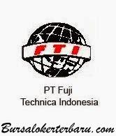 Lowongan Kerja PT Fujitech Technica Indonesia (FTI) - Operator Produksi