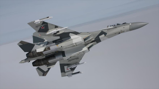 """Caza ruso interceptó avión de EEUU en cielo sirio"""