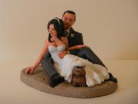 sposini torte statuine matrimonio topper cake pesonalizzati cake tops orme magiche