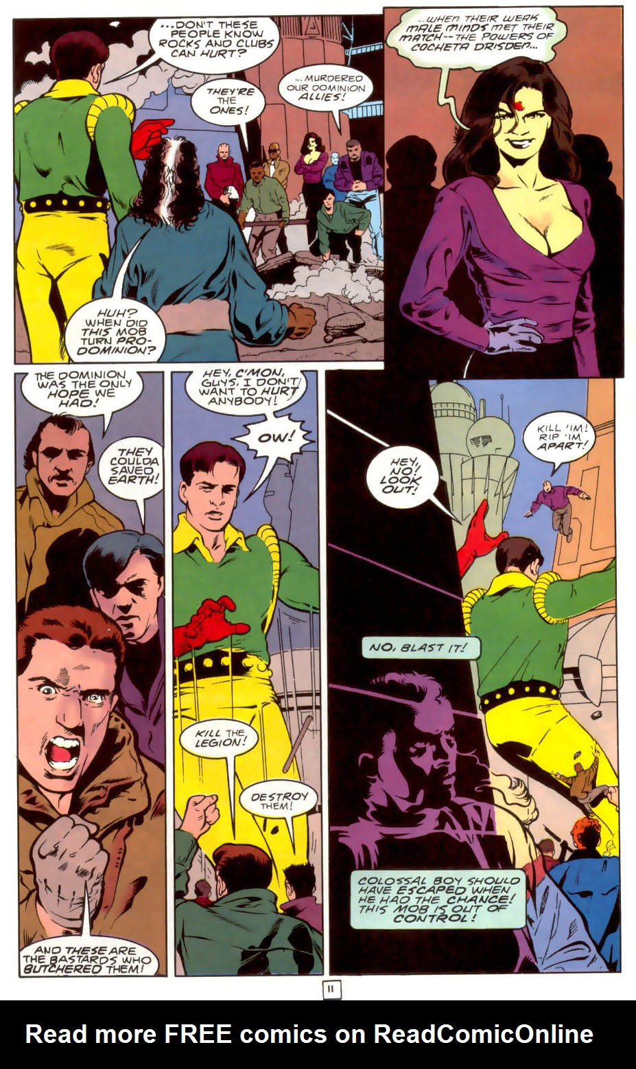 Legion of Super-Heroes (1989) 40 Page 11