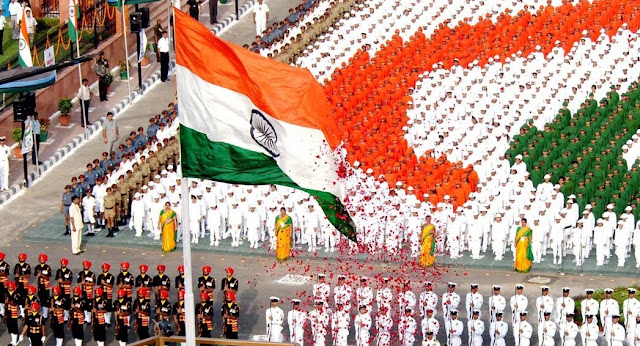 Flag Hoisting Ceremony Independence Day Images