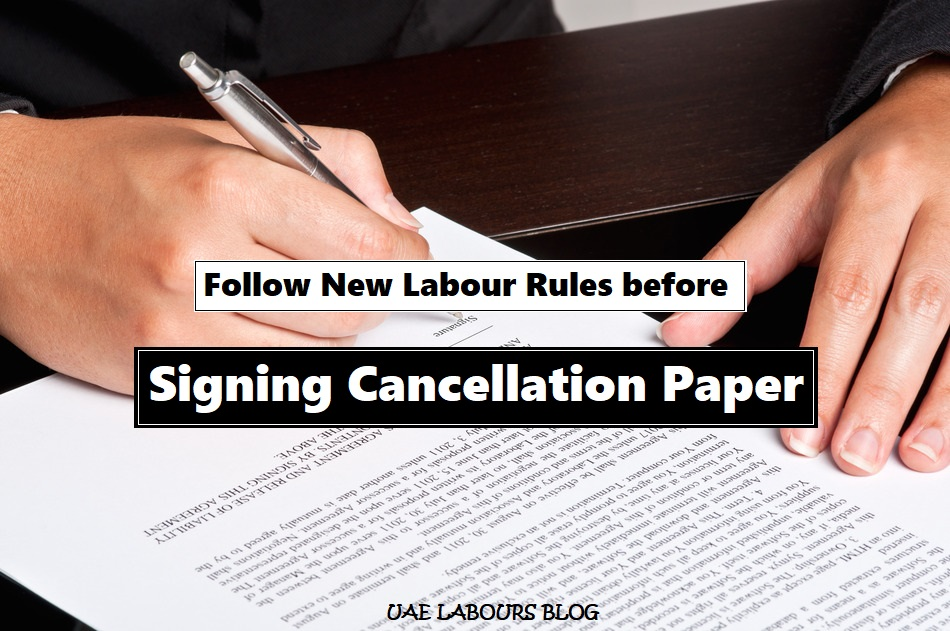 cancellation rules in uae