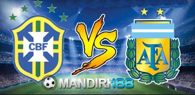 AGEN BOLA - Prediksi Brasil vs Argentina 9 Juni 2017