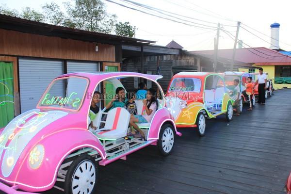 Wahana Rekreasi Bontang Kuala Kini Makin Semarak Dengan Hadirnya Mobil Goes