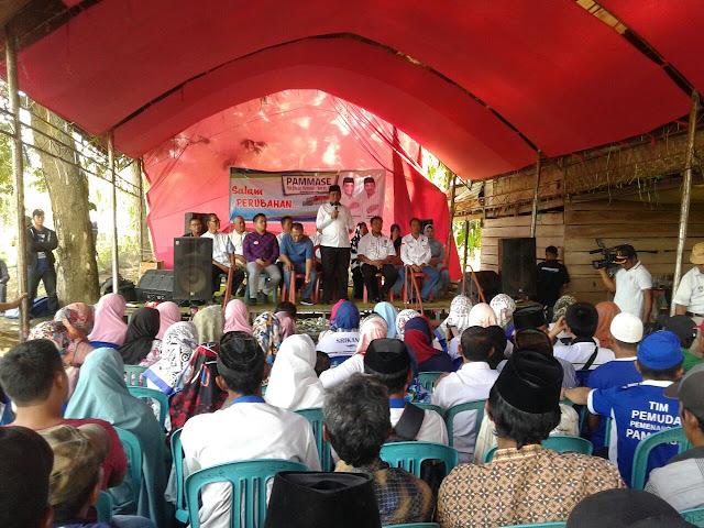 Kader Partai Pengusung BARAKKA Malah Jadi Jurkam PAMMASE di Belawa