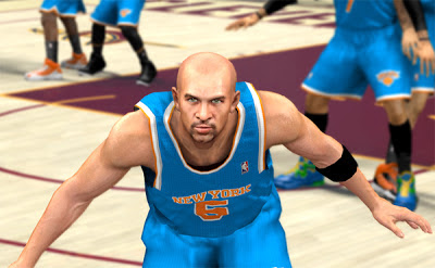 NBA 2K13 Jason Kidd Cyberface Patch