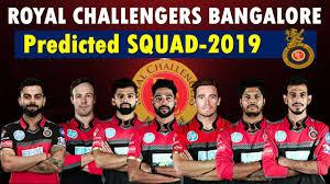 IPL 2019 RCB squad