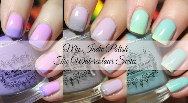 My Indie Polish The Watercolour Thermal Series