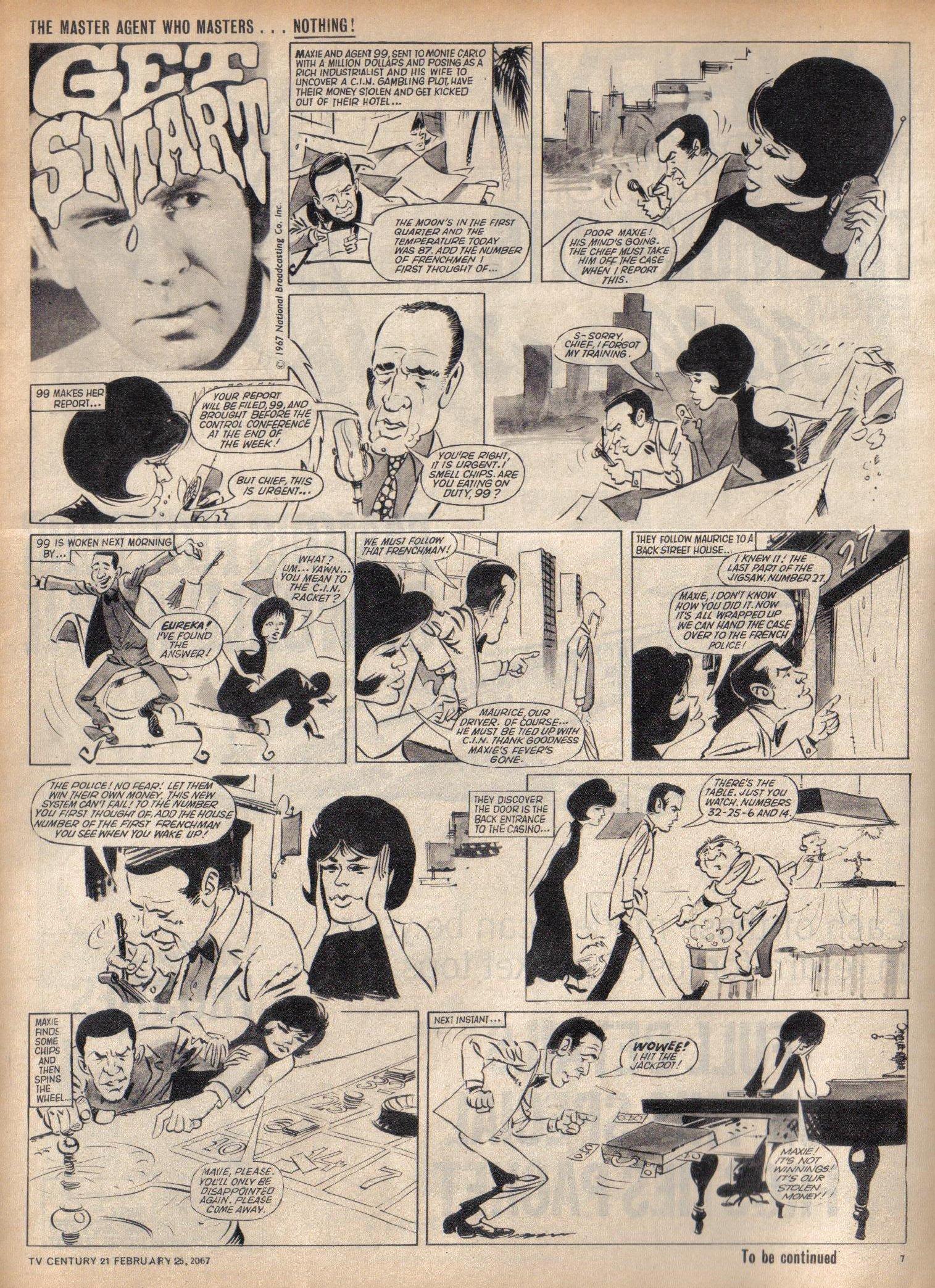 Read online TV Century 21 (TV 21) comic -  Issue #110 - 7