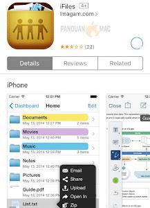 iFiles iPhone dan iPad