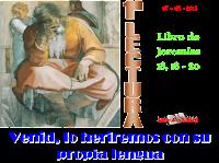Resultado de imagen para Dijeron: «Venid, maquinemos contra Jeremías, porque no falta la ley del sacerdote,