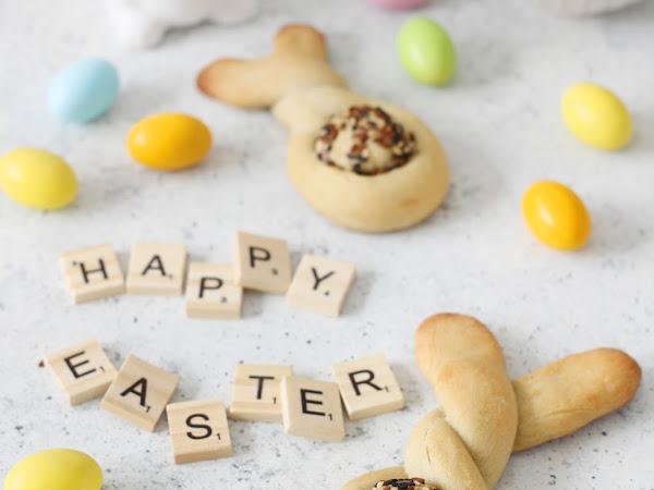 Coniglietti di pane per Pasqua
