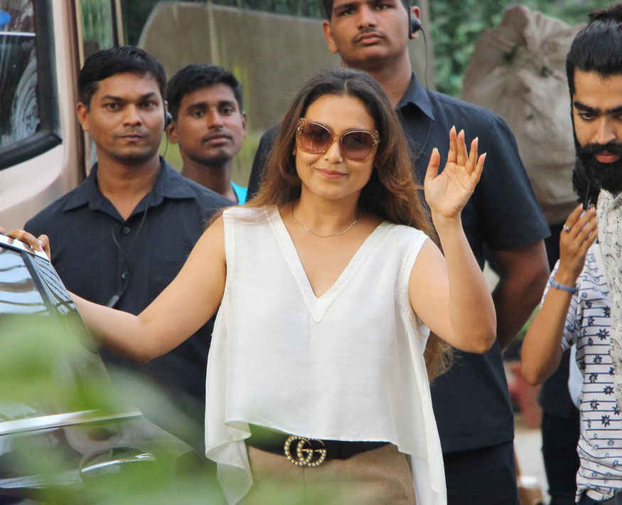 Rani Mukerji at Shukasha In Bandra