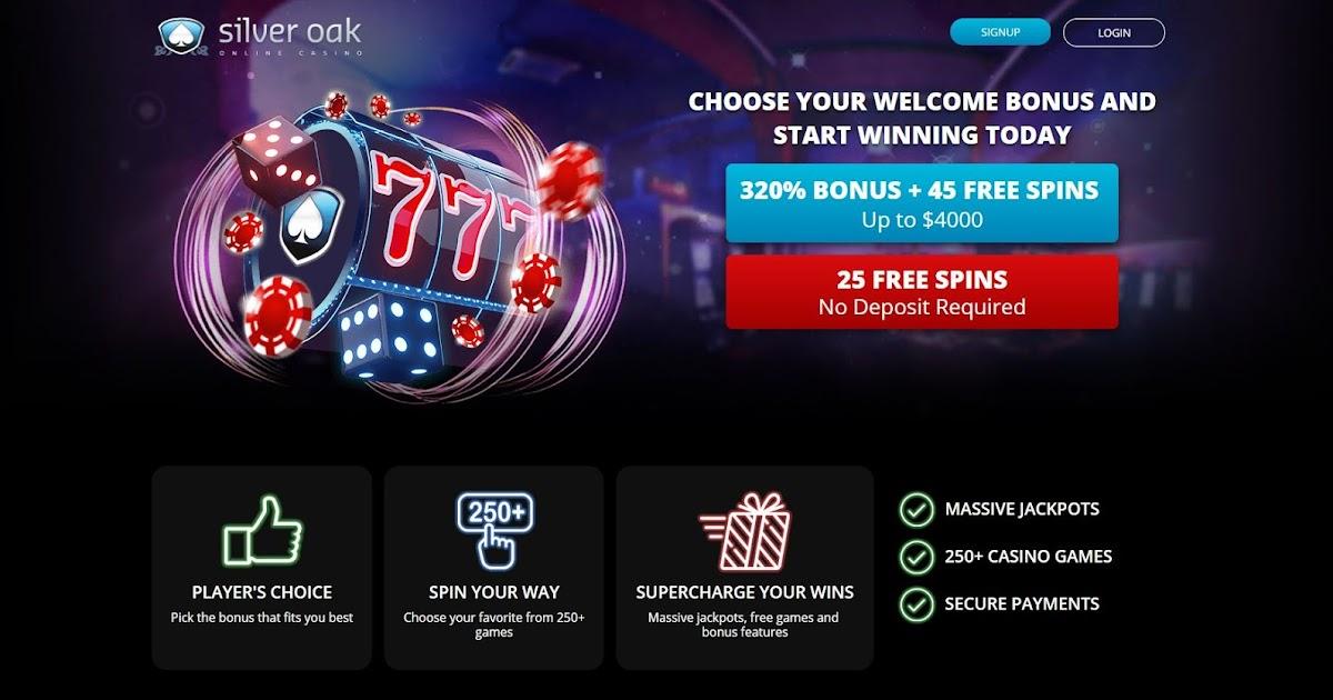 Silver Oaks Casino No Deposit Codes