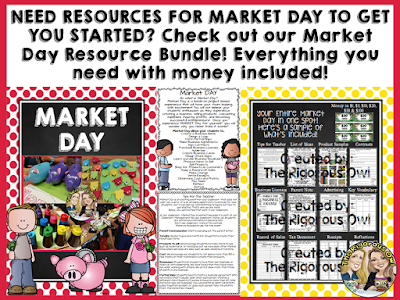 Have you ever considered having a Market Day in your classroom? Check out how this pair of teachers facilitates Market Day in their classroom!