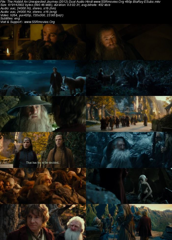 the hobbit an unexpected journey download in hindi 300mb