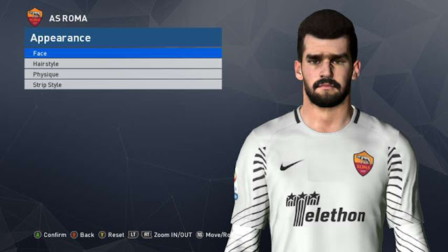Alisson Becker New Face PES 2017