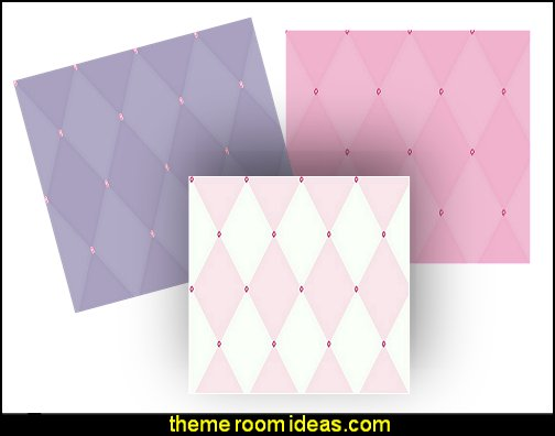 Disney Kids Harlequin Wallpaper with gems