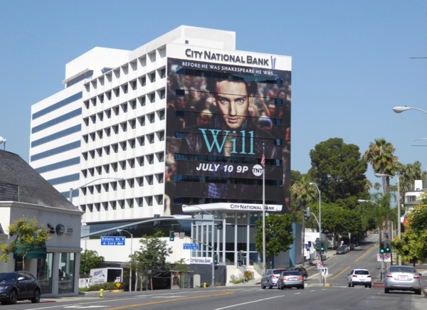 Giant Will series launch billboard