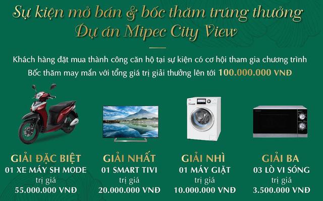Quà tặng mở bán Mipec View City