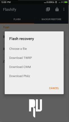 INSTALL-CWM-TWRP-RECOVERY-ON-ANDROID-WITHOUT-PC How to Install TWRP/CWM Recovery On Android Without Pc Computer . Root