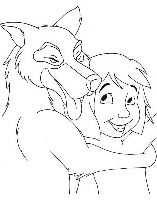 akela coloring pages - photo#4