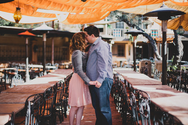 Disneyland Engagement Pictures - Rancho del Zocalo