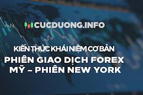 PHIÊN GIAO DỊCH FOREX MỸ – PHIÊN NEW YORK