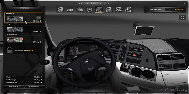 Actros interiors by pit19169