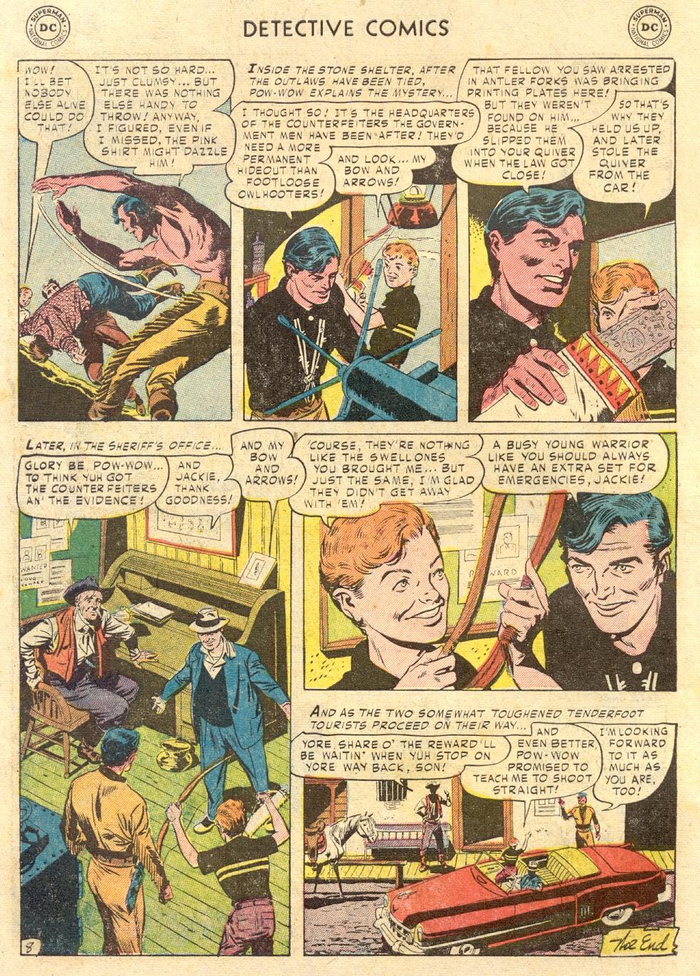 Read online Detective Comics (1937) comic -  Issue #186 - 42