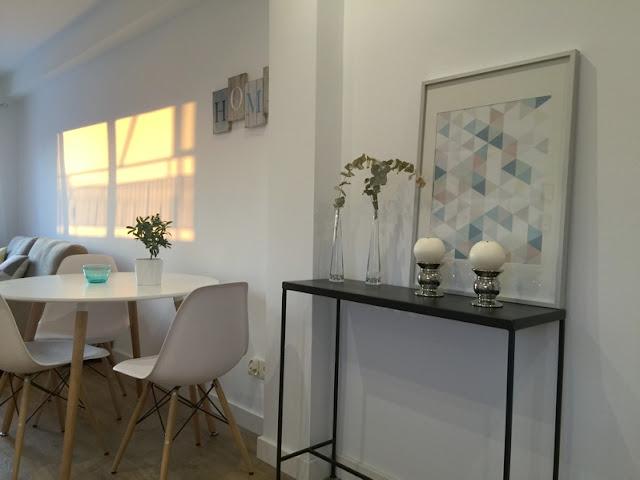 Decorar un apartamento de 50 m2 ubicado en Zaragoza