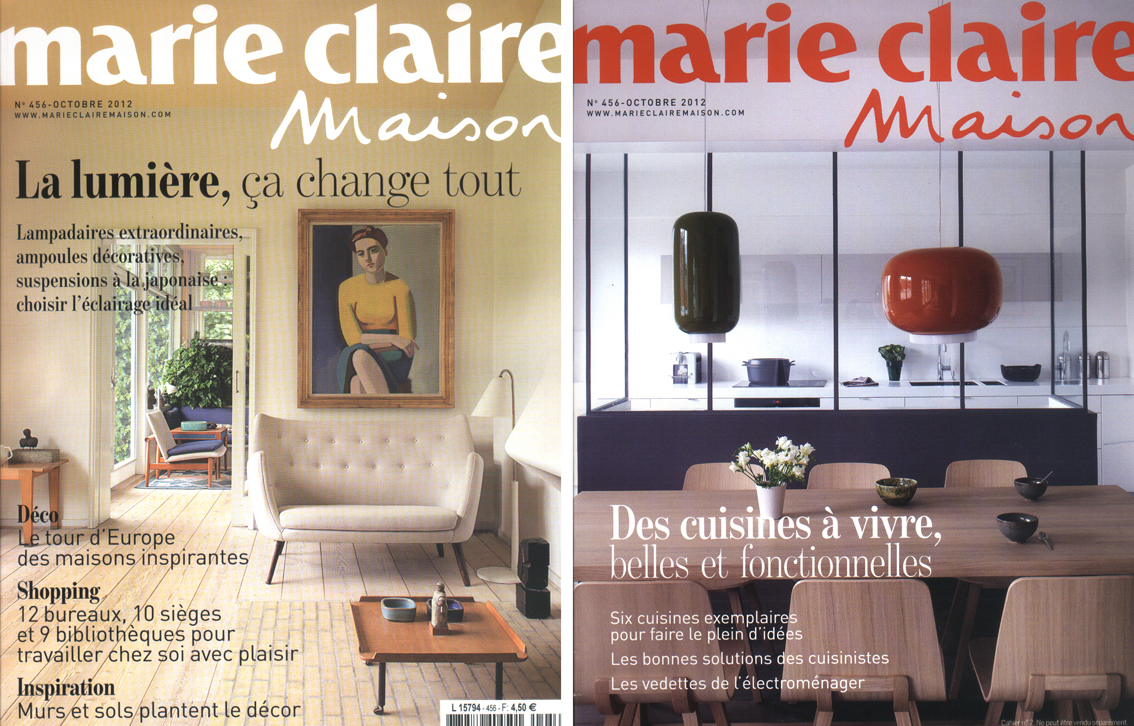 oono architectures marie claire maison octobre 2012. Black Bedroom Furniture Sets. Home Design Ideas