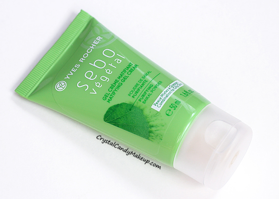 Yves Rocher Sebo Vegetal Matifying Gel Cream Review Photos