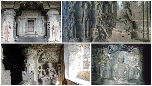 Jain Caves - Cave 32 at Ellora Caves