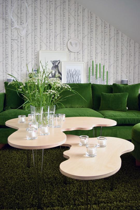 Iittala, Alvar Aalto-vasformade bord | idé och utförande: Erik Mäki