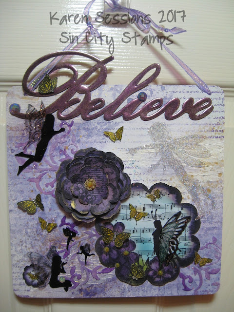 Believe in Fairies Wall Hanging - Home Decor