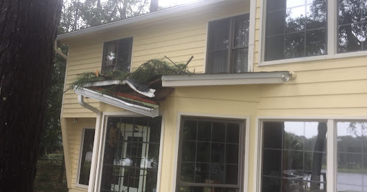 Roof Tarping- Hurricane Michael