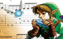 Link tocando ocarina The Legend of Zelda