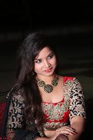 Sirisha Dasari in Red Ghagra Backless Choli ~  039.JPG