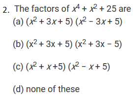 R D  Sharma Solutions Class 9th: Ch 5 Factorization of