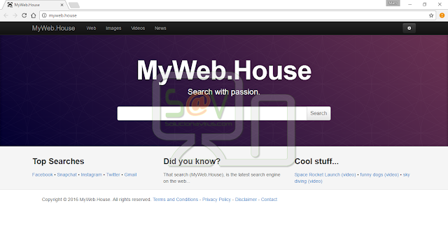 Myweb.house (Hijacker)
