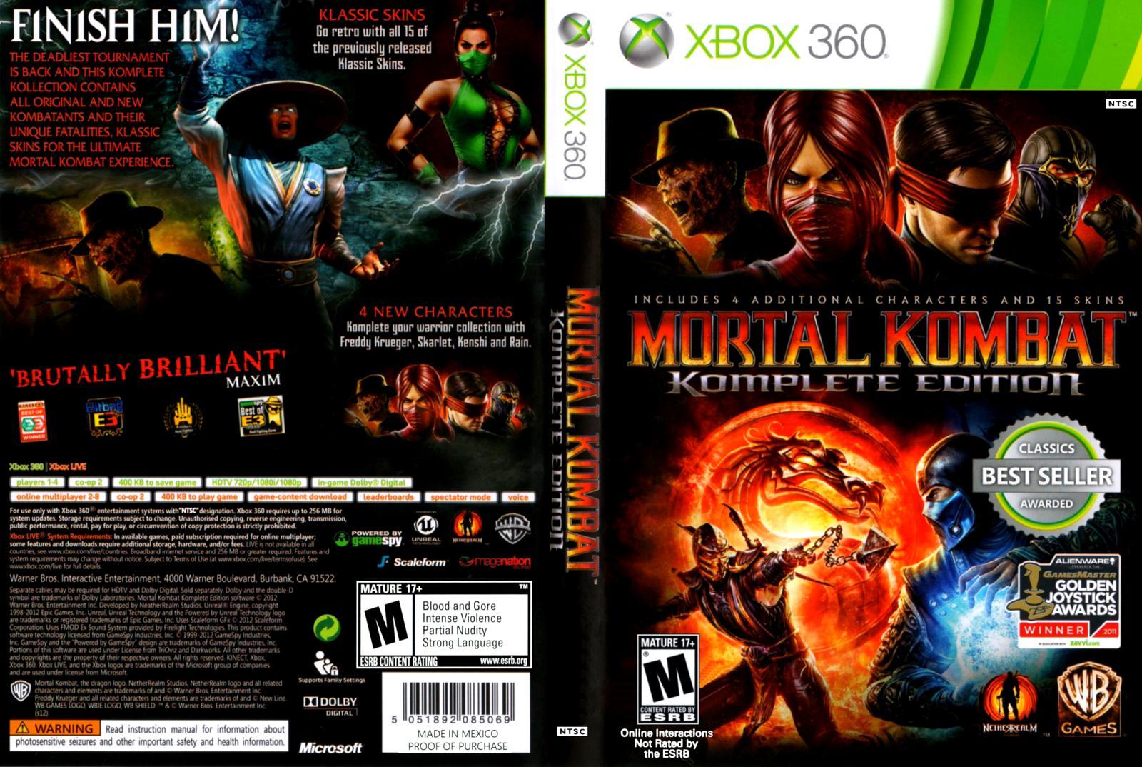 DAR Games: The 5 Greatest Mortal Kombat Games - DefineARevolution com