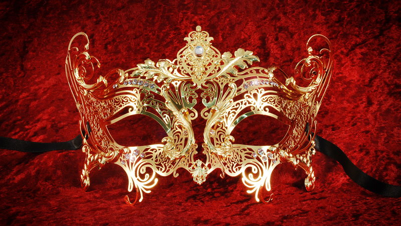 filigree masks at simply masquerade